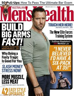 Action man: The 36-year-old talks about getting in shape for the blockbuster sequel