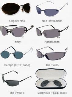 46faa1ba63 Occhiali da sole di Matrix: i modelli del film cult | Eyewear Stylosophy