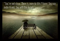 If you're feeling alone then you are not alone.