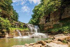 The South's Best Swimming Holes and Waterfalls: Cummins Falls