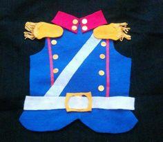 Disfraz Granadero Pechera Pañolenci Niño 9-12 Año Brovillnet Halloween Disfraces, Costumes, Diys, Holiday Decor, Crafts, Christmas, Molde, Vestidos, Mascot Costumes