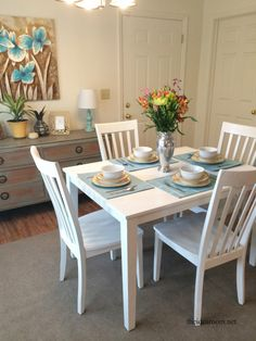 Dining room and kitchen upgrades for under $250 #ReStore