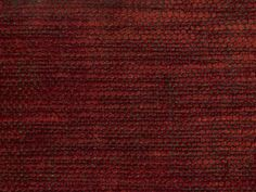 Perses Chenille Soft antiqued chenille in red and chocolate
