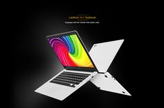 CHUWI LapBook 14.1 inch Windows 10 FHD Screen Notebook Intel Apollo Lake Celeron N3450 Quad Core 1.1GHz 4GB RAM 64GB ROM 9000mAh Battery HDMI WiFi