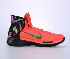 save off cac63 6a3d2 NIKE PRIME HYPE DF 2016 BRIGHT RED HYPER BLACK 844830 605  150 Neon Nike  Shoes,
