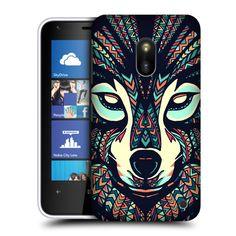 Pouzdro na mobilní telefon Nokia Lumia 620 HEAD CASE AZTEC VLK