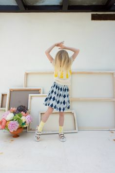 Discover how art has inspired Bobo Choses latest summer collection Der Blauer Reiter. Full of colours and fauvism, perfect for a summer of fun! Fashion Kids, Preteen Fashion, Fashion Design For Kids, Little Girl Fashion, Fashion 101, Fashion Clothes, Tween Mode, Cool Kids Clothes, Summer Clothes