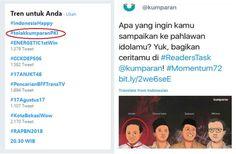 Berita Islam ! #TolakKumparanPKI Jadi Trending Topic di Twitter Ini Sebabnya... Bantu Share ! http://ift.tt/2uQ7yd6 #TolakKumparanPKI Jadi Trending Topic di Twitter Ini Sebabnya  Jagat Twitter diramaikan dengan tagar baru malam ini yang segera menjadi trending topic. #tolakkumparanPKI demikian ia berada di peringkat kedua teratas. Mengapa media itu dikaitkan dengan PKI? Ternyata Kumparan.com baru saja menempatkan foto DN Aidit sebagai tokoh muda menjelang proklamasi bersama Chaerul Saleh…