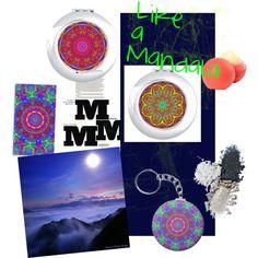 """Like a Mandala"" by valeriatelier on Polyvore"
