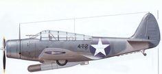 TBD-1 чёрная-4-T-2 из VT-4,Авианосец USS Ranger (CV-4) Тихий океан 1942 год.