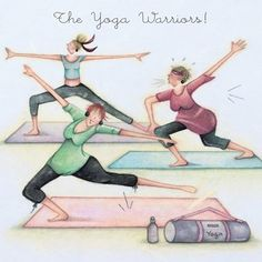 the Yoga Warriors - - the Yoga Warriors Liebe grüße the Yoga Warriors Happy Birthday Yoga, Birthday Quotes, Birthday Wishes, Funny Birthday, Old Lady Humor, Yoga Cartoon, Warrior Yoga, Senior Humor, Yoga Friends