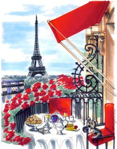 Love In The Afternoon Parisian Style- ~LadyLuxury~