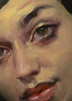 """""""Rose Red"""" (close-up), John Larriva art"""