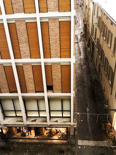 It's all about tall lines Condominium, Contemporary Architecture, Facade, Milan, Windows, Parma, City, Outdoor Decor, Home Decor