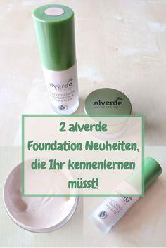 Alverde Foundation Neuheiten: Perfect Cover Foundation & Concealer, alverde Gel Make-up