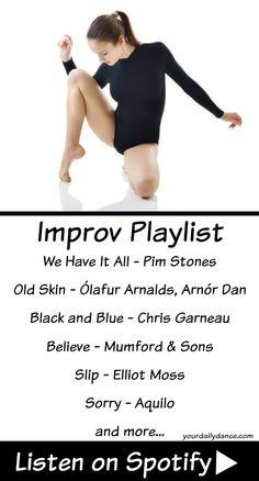Improv Playlist For Dancers