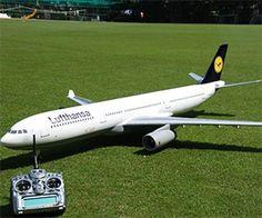 Radio Control Airbus Plane