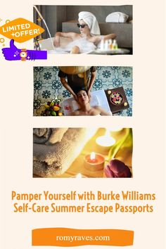 If you know me, you know I need self care pampering time. Burke WIlliams is offering some crazy deals in the new Passport program. Just sharing with my friends in need.. Enjoy!
