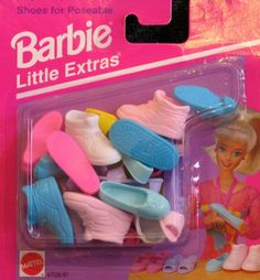 Barbie: Little Extras Shoes for Poseable Barbie Arcotoys, Mattel) Barbie Bike, Barbie Dolls Diy, Doll Clothes Barbie, Barbie And Ken, Birthday Party Games For Kids, Little Pony Birthday Party, Minnie Mouse Games, Barbie Chelsea Doll, Accessoires Barbie