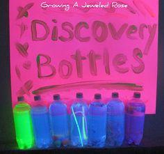 Plain Vanilla Mom: Sensory Bottles for Little Ones