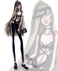 Athleisure by Hayden Williams: Look 1
