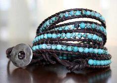 Super easy diy wrap bracelet