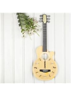 New Arrival Lovely Guitar Musical Notes Design Wall Clock