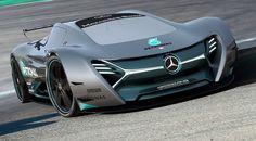ELK Mercedes electric concept car  , - ,   The futuristic E...