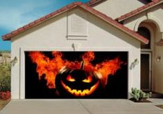 These Halloween Garage Decoration are a great addition to your Halloween Decorating
