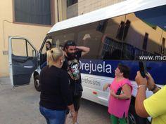 con el Sevilla en Adra ( Almería)