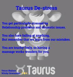 Taurus De-stress - Venus Skylace