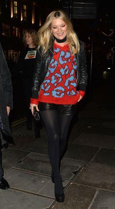 Kate Moss in November 2016