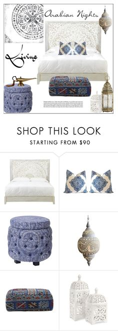 """""""Arabian Nights-Moroccan Style"""" by pat912 ❤ liked on Polyvore featuring interior, interiors, interior design, home, home decor, interior decorating, Home Decorators Collection, Jayson Home, IMAX Corporation and Pier 1 Imports"""