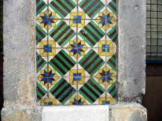 ceramic tiles . lisbon