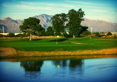 Silverbell, in Tucson, Arizona, is built along the west bank of the Santa Cruz River and features nine lakes waiting to capture any errant shots over them. At 6,800 yards from the championship tees the long hitters can take advantage of the ample fairways and generous greens! Click on the pin for other Tucson, AZ area golf courses, events and more!
