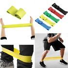 New Resistance Band Tube Workout Exercise Elastic Band Fitness Equipment Yoga #ad