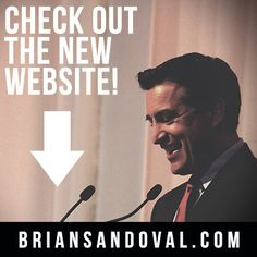 We have a new website! Check it out: www.briansandoval.com