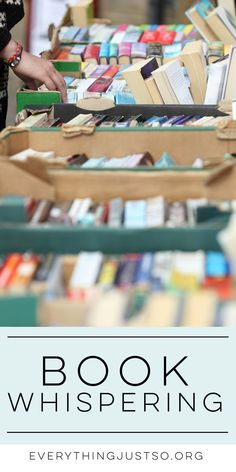 Book Whispering | ev