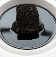Omaggio a Thelonius Monk - Osteria Francescana - chef Massimo Bottura. www.osteriafrancescana.it Colour Design Art Photography Black White Food Color gourmet noir blanc