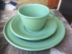 Kaffekopp med fat + assiett Kockums (314781615) ᐈ Köp på Tradera.com