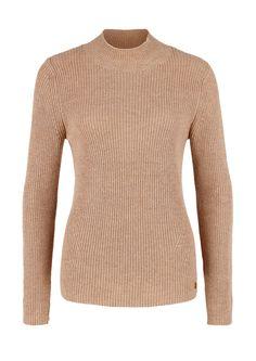 Rippstrick-Pulli mit Stehkragen von s.Oliver. Entdecken Sie jetzt topaktuelle Mode für Damen, Herren und Kinder und bestellen Sie online.