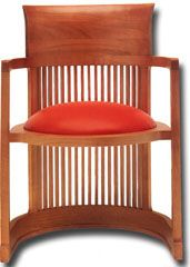 Chairs By Famous Architects: The Barrel Chair by Frank Lloyd Wright