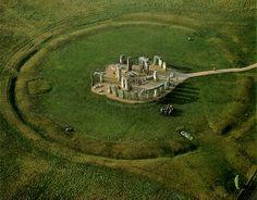 Stonehenge - located in England.