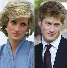 Diana, Princess of Wales & Prince Harry, Duke of Sussex Princess Diana Family, Princess Meghan, Royal Princess, Prince And Princess, Princess Of Wales, Lady Diana Spencer, Diana Son, Prince William And Harry, Prince Harry And Megan