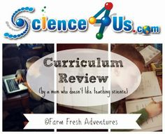 Curriculum Review by a mom who doesn't like to teach science #hsreviews #science #homeschool