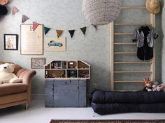 Elfvinggården – Inredning & Inspiration Creative Kids Rooms, Kids Room Design, Kids Decor, Home Decor, Kid Spaces, Room Interior, Girl Room, Kids Bedroom, Room Inspiration