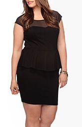 Love this peplum dress! Plus Size Dresses: cocktail dresses, party dresses | Forever 21