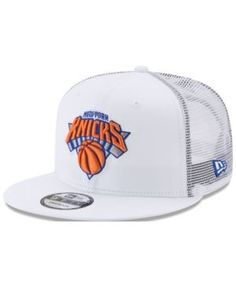 New Era New York Knicks Summer Time Mesh 9FIFTY Snapback Cap - White  Adjustable Caps Game e0889d40242