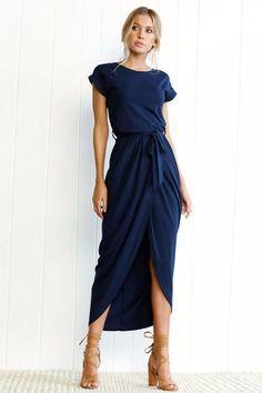 Alexandra Casual Maxi Dress