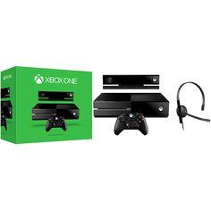 [Americanas] Xbox One 500GB + Sensor Kinect + Headset com Fio + Controle Wireless R$1771